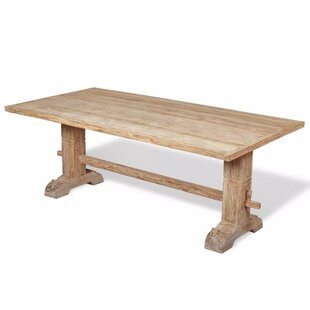 Foxworth Massive Teak Dining Table By Union Rustic