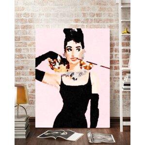 Audrey Hepburn Wall Art audrey hepburn wall art | wayfair