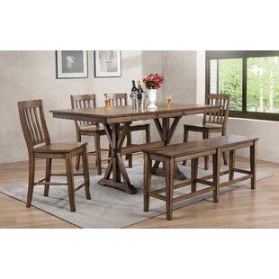 Gracie Oaks Clennell 6 Piece Drop Leaf Dining Set