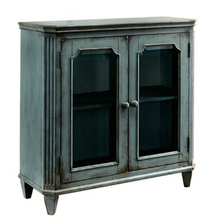 Rex Distressed Wooden 2 Door Cabinet by One Allium Way
