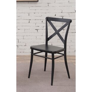 Darby Home Co Tawnya Industrial Dining Chair (Set of 2)