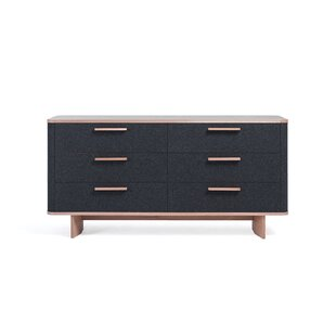 Jeb 6 Drawer Double Dresser