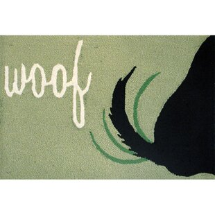 Huffman Woof Hand-Tufted Green Indoor/Outdoor Area Rug by Winston Porter Cheap