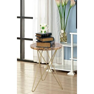 Evansville Agate End Table by Ivy Bronx