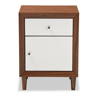 Persinger 1 Drawer Nightstand