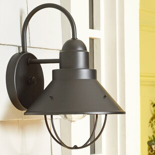 Castro 1-Light Outdoor Barn Light by Longshore Tides