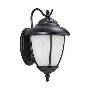 Reviews Atisha 10W 1-Light Outdoor Wall Lantern III By Red Barrel Studio