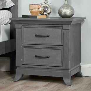 Find the perfect Newsoms 2 Drawer Nightstand ByHarriet Bee