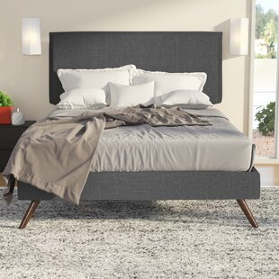 Ayala Upholstered Platform Bed by Trule Teen