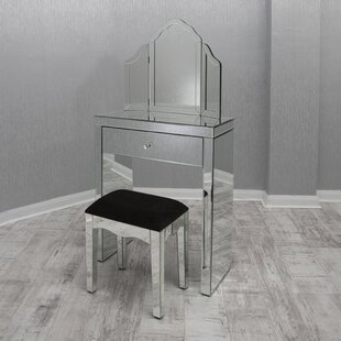 Mason Dressing Table Set With Miror By Rosdorf Park