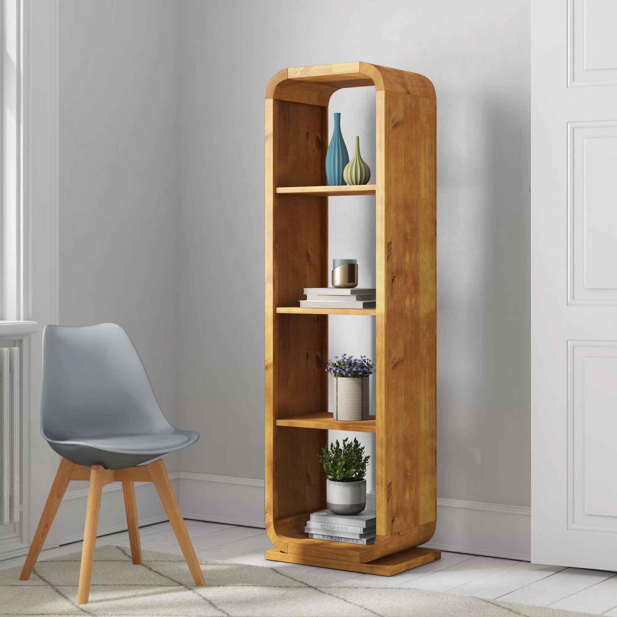 Acton Solid Wood Bookcase