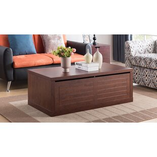 Tia Coffee Table by Charlton Home Bargain
