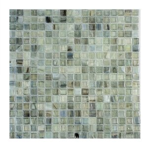 Piazza 0.5″ x 0.5″ Glass Mosaic Tile in Green