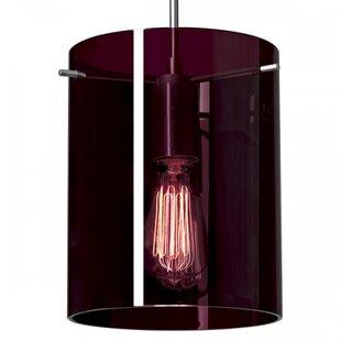 Bruck Lighting London 1-Light Cylinder Pendant