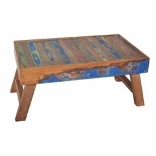 Etten Repurposed Wood Breakfast Tray With Folding Leg