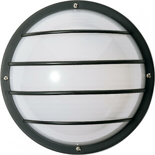 Top Reviews Chapple 1-Light Outdoor Bulkhead Light By Ebern Designs