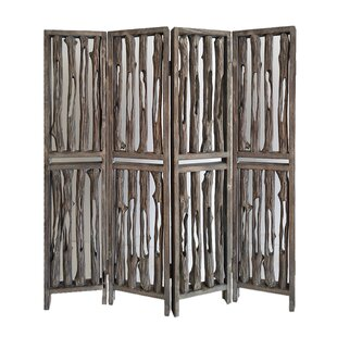Union Rustic Pinero 4 Panel Room Divider