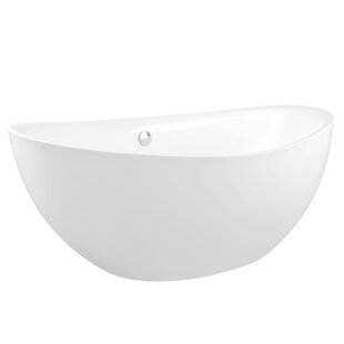 Acrylic 72 x 35 Freestanding Soaking Bathtub by AKDY