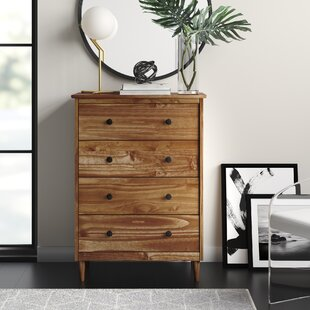 Lafever 4 Drawer Dresser by Mercury Row