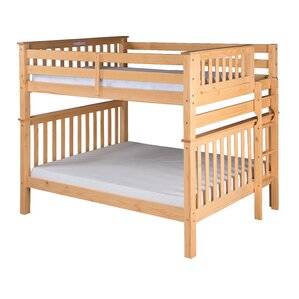 Santa Fe Mission Tall Bunk Bed by Camaflexi