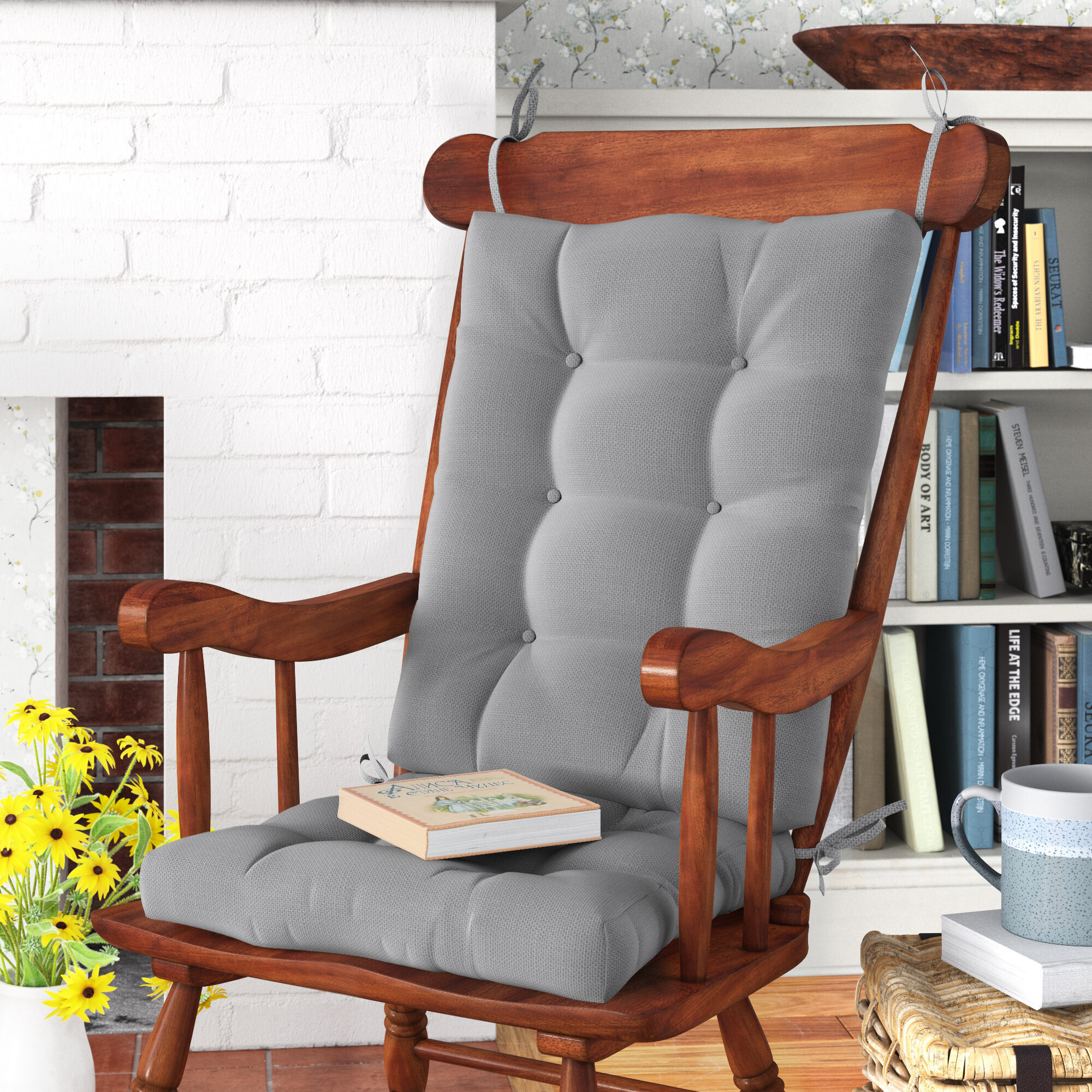 Picture of: Rocking Chair Chair Seat Cushions You Ll Love In 2020 Wayfair