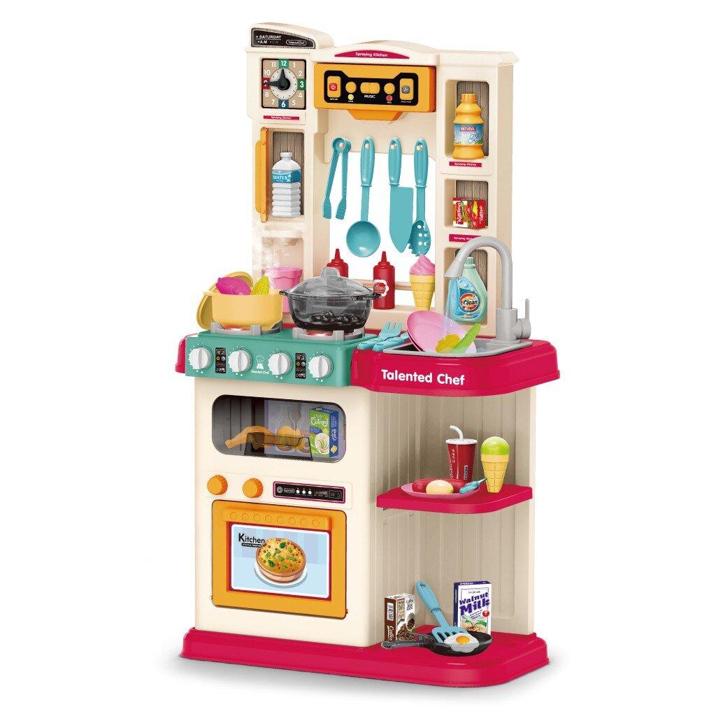 DlandHome Role Play Kids Kitchen Set & Reviews | Wayfair