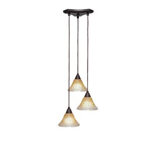 Nessa 3-Light Pendant by Red B..