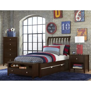 Viv + Rae Granville Rake Sleigh Bed with Trundle