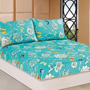 Tache Home Fashion Wonderland 100% Cotton Fitted Sheet Set