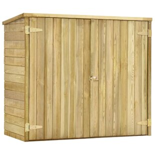 Garden Tool 4 Ft. W X 2 Ft. D Solid Wood Tool Shed By WFX Utility