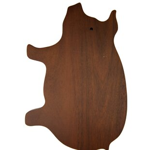 Allenside Pig Shaped Cheese/Cutting Cheese board & platter by Bungalow Rose