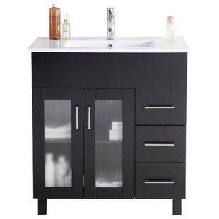 Nova 32 Single Bathroom Vanity Set by Laviva