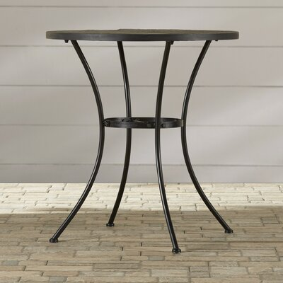 Mcdavid Slate/Stone Bistro Table by Alcott Hill Best Choices
