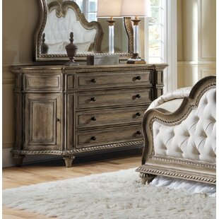 Compare prices Porath 4 Drawer Combo Dresser by One Allium Way