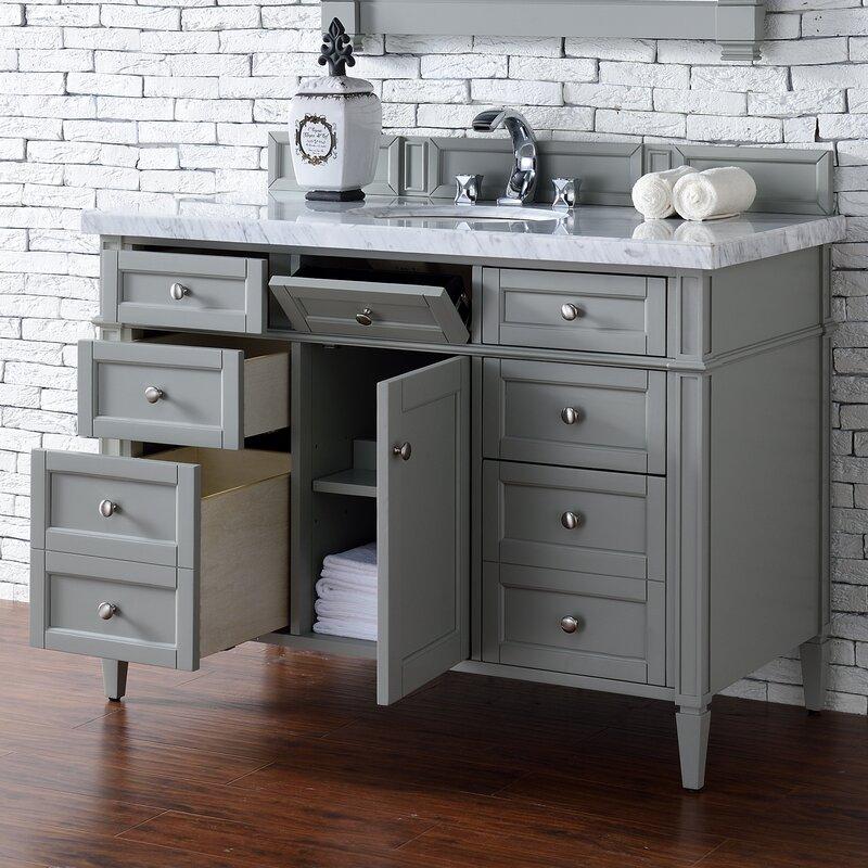 "Brittany 48"" Single Bathroom Vanity Base"