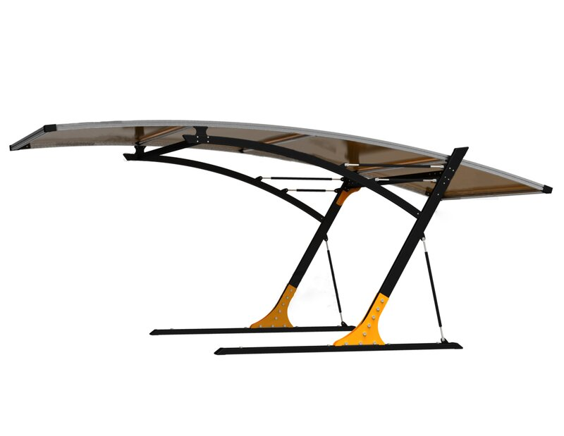 Abolos 19.5 Ft. x 19.5 Ft. Canopy  Color: Grey