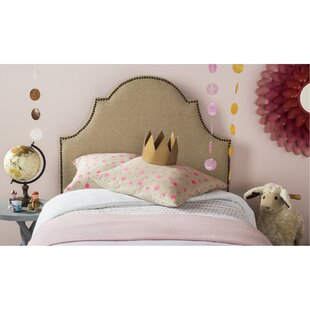 Alonso King Upholstered Panel Headboard by Grovelane Teen