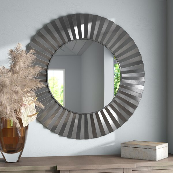 Brand new Natalie Sunburst Round Mirror | Wayfair CM04