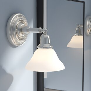 Darmstadt 1-Light Bath Sconce by Three Posts