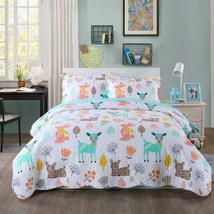 Alkes Reversible Quilt Set