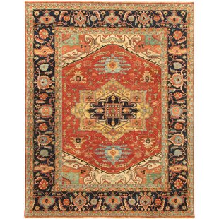Serapi Hand-Knotted Turkish Lamb's Wool Area Rug by Pasargad