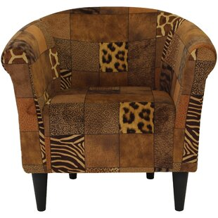 Ronda Padded Barrel Chair by Bloomsbury Market