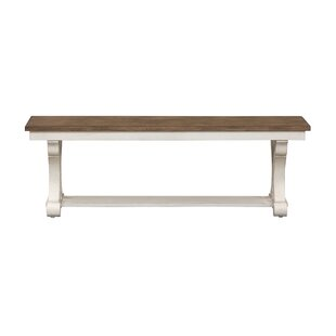 Gilbert Wood Bench by August Grove