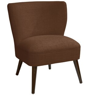 Harpe Curved Side Chair by Ivy Bronx