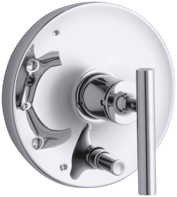 Kohler T14501 4 Bl Purist Shower Valve Trim Matte Black