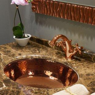 Best Reviews Regatta Circular Undermount Bathroom Sink ByNantucket Sinks