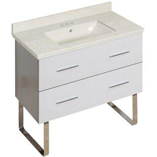 Hinerman 36 Single Bathroom Vanity Set ByRoyal Purple Bath Kitchen