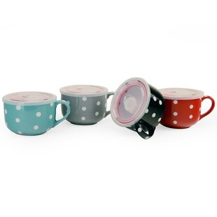 Sylas 20 oz. 4 Piece Travel Mug Set