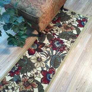 Find for Beauchamp Square Red/Green Area Rug By Andover Mills