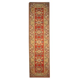 Turkish Milas Fine Hand-Woven Brown/Orange Area Rug by Caracella